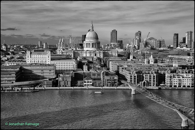 Endurance - St Paul's from the Tate Modern