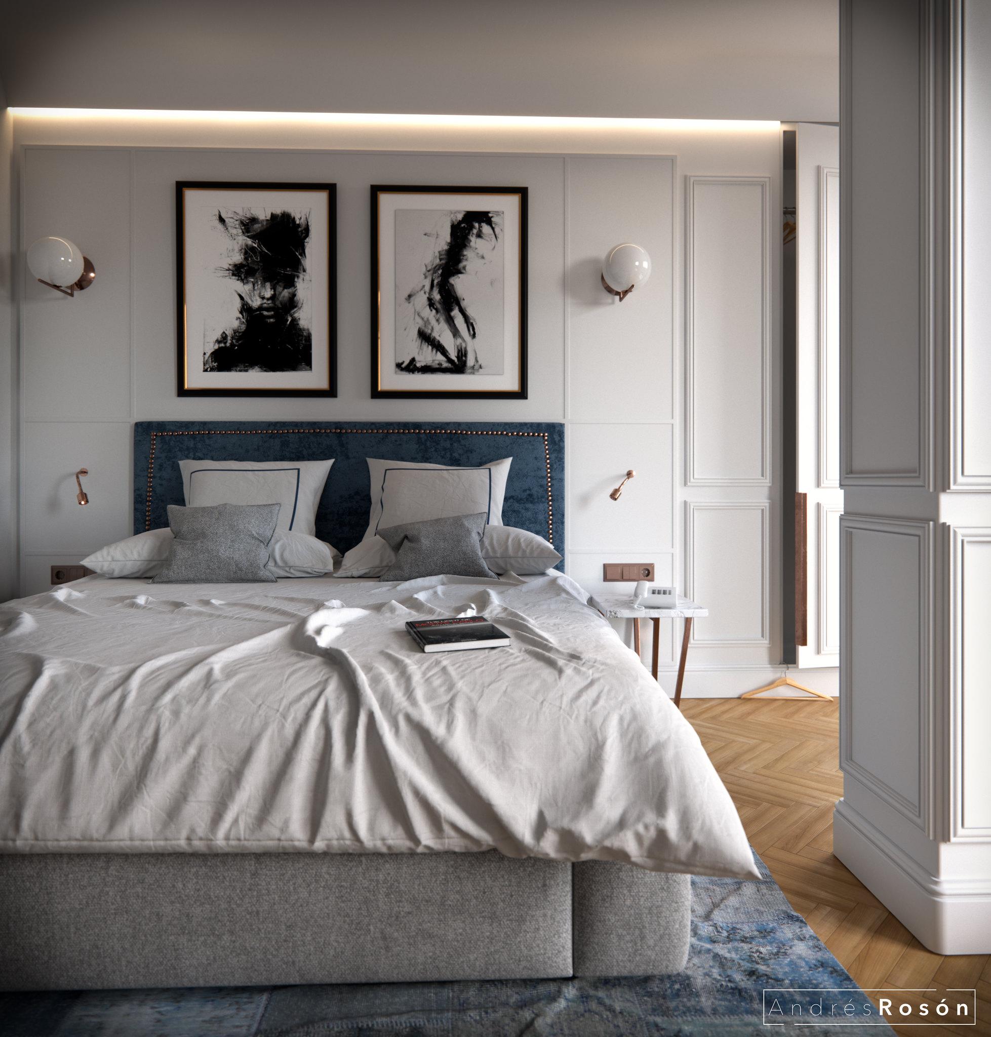 Hotel Room CGI