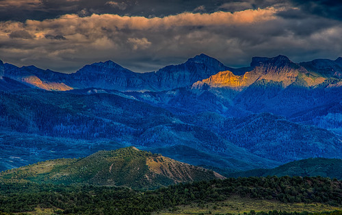 ridgwaystatepark rockymountains sanjuanmountains sunsets ridgway colorado unitedstates us