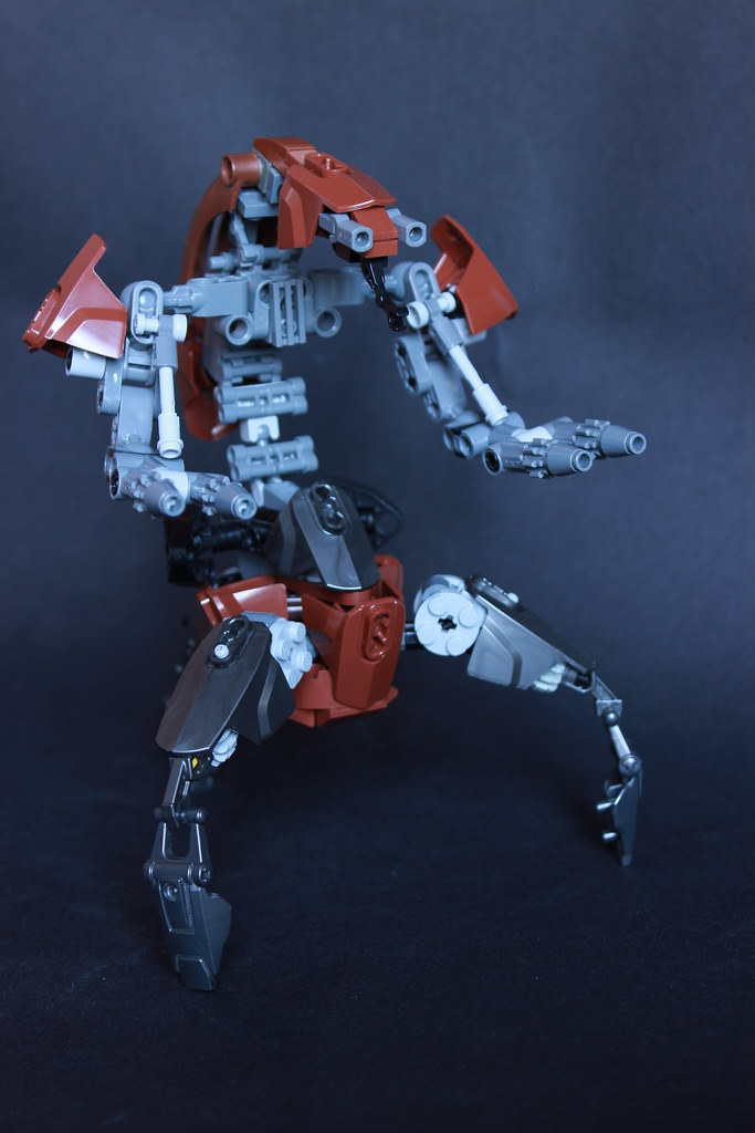 Droideka (custom built Lego model)