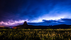 Devils Tower, Crook County, Wyoming, USA.