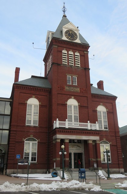 Sullivan County Courthouse and Town Hall (Newport, New Hampshire)