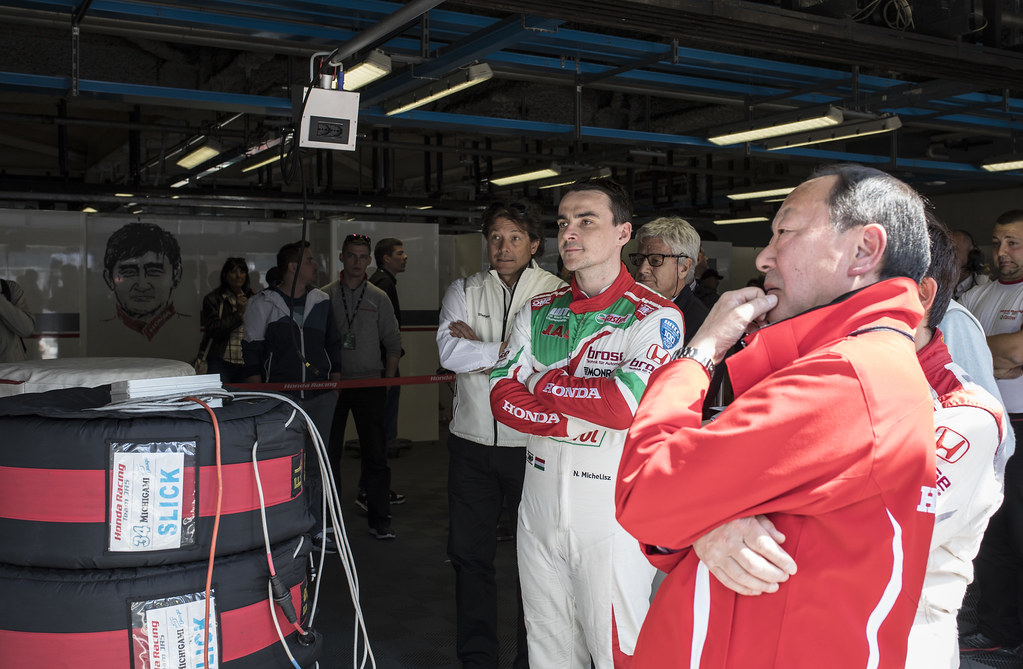 MICHELISZ Norbert (hun) Honda Civic team Castrol Honda WTC ambiance portrait during the 2017 FIA WTCC World Touring Car Race of Italy at Monza, from April 28 to 30  - Photo Gregory Lenormand / DPPI