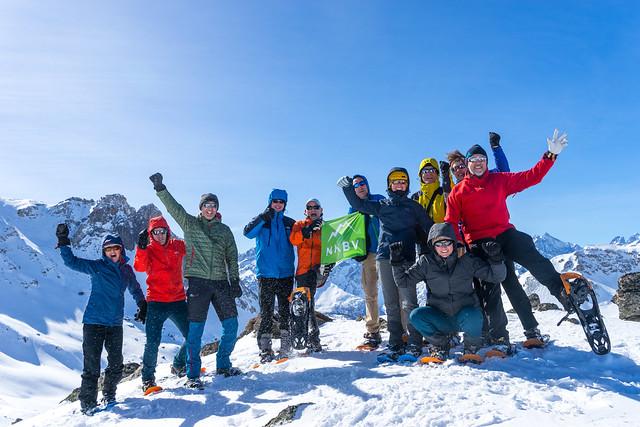 2017 Sneeuwschoenwandelen huttentocht