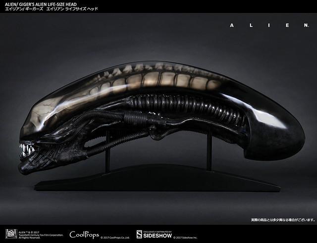 CoolProps【異形】Alien 1:1 電影道具複製頭像作品