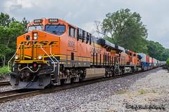 BNSF 8006 | GE ES44C4 | BNSF Thayer South Subdivision