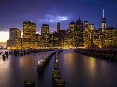 Manhattan on the Edge of Night