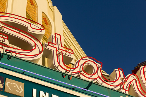 Stanley Theatre Sign