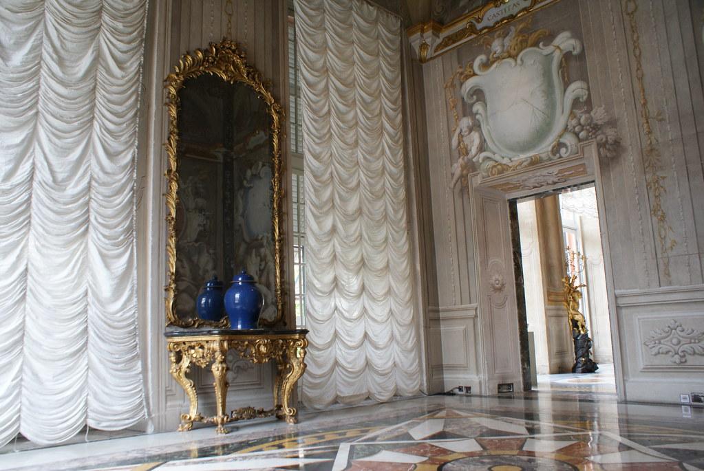 Dans une pièce du Palazzo Bianco à Gênes.