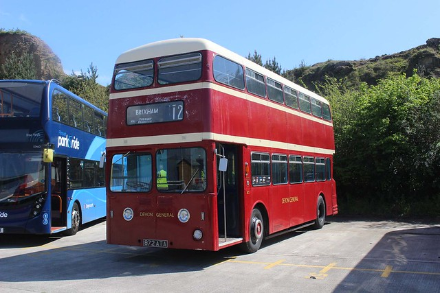 IMGC2247 Devon General 872 872ATA Plymouth depot 23 Apr 17