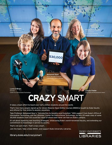 Coursera Crazy Smart Ad