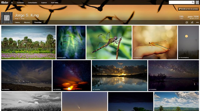 Favoritas en Flickr