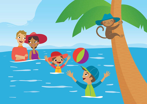 Monkey Beach Illustrations