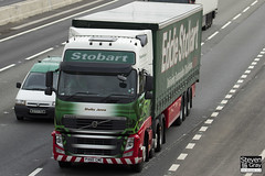 Volvo FH 6x2 Tractor - PX60 CME - Shelby Jenna - Eddie Stobart - M1 J10 Luton - Steven Gray - IMG_8171
