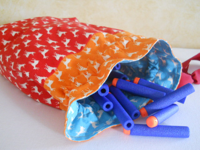 Nerf darts in pouch