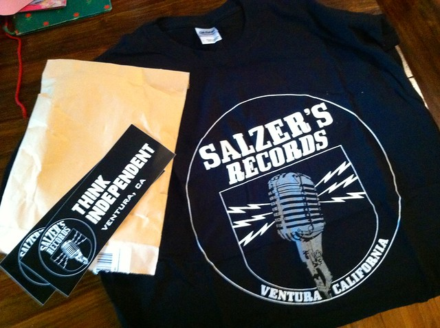 Salzer's Records, Ventura, CA