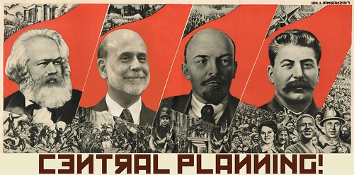 CENTRAL PLANNING MURAL by WilliamBanzai7/Colonel Flick