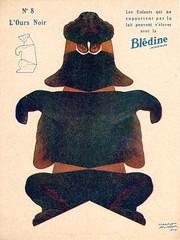 bledine ours noir