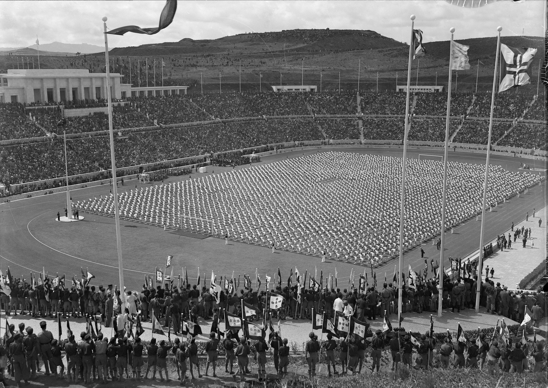 Estádio Nacional, Lisboa (H. Novais, 1944)