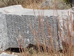 A Scattered Inscribed Stone