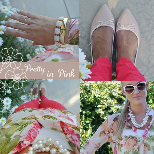 OOTD Pretty in Pink
