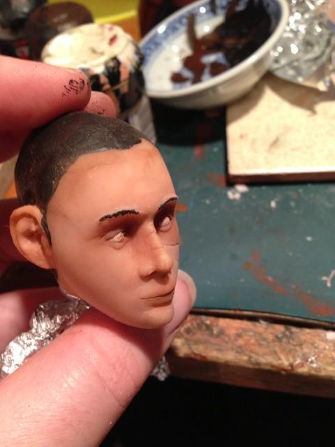 1/6 scale headsculpt WIP 'Skara'