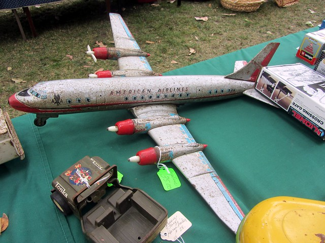 vintage airplane toy