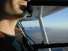 Flying over the Sandias