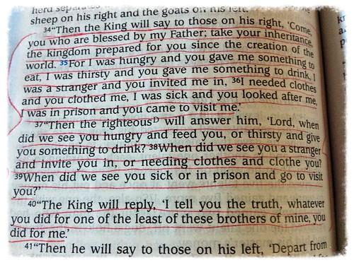 A Brilliant Flash of Spiritual Light (Matthew 25:33-40)(John 10:16 ...