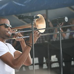 Trombone Shorty at Newport 2013