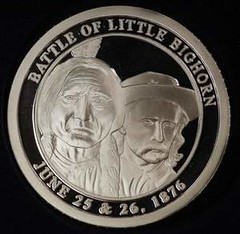 Crow Scout silver coin