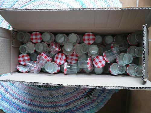 Tiny Bonne Maman Jam Jars