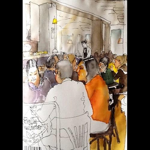 Caligrafia Urbana: Padarias de São Paulo - Bela Paulista #sketch by Dalton de Luca