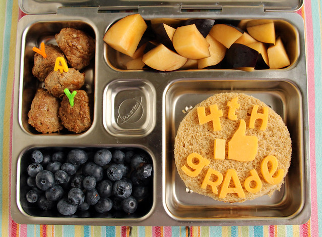 First Day of 4th Grade Bento #779