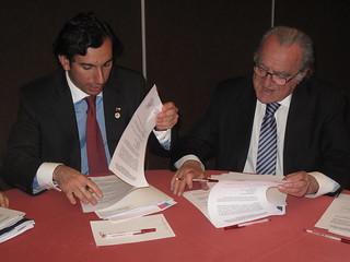 Subsecretario del Trabajo firma acuerdo de colaboración y destaca integración entre Chile y Argentina