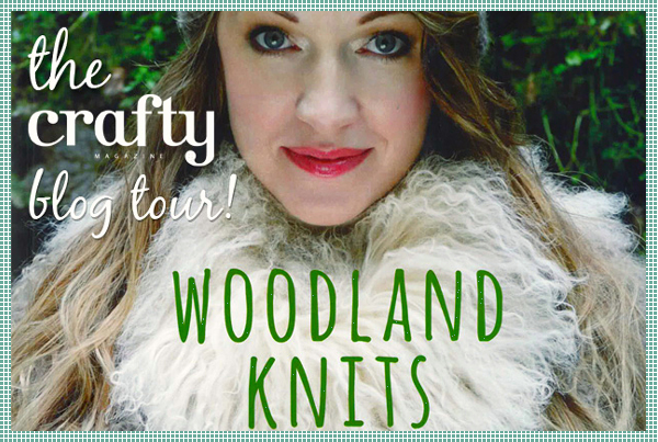 The Crafty Magazine blog tour : Woodland Knits, a Tiny Owl Knits collection by Stephanie Dosen | Emma Lamb