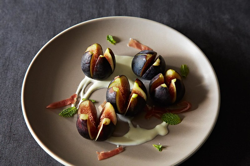 Richard Olney's Fresh Fig and Mint Salad on Food52