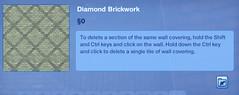 Diamond Brickwork 2