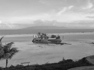 Bohol - Panglao Island islet low tide