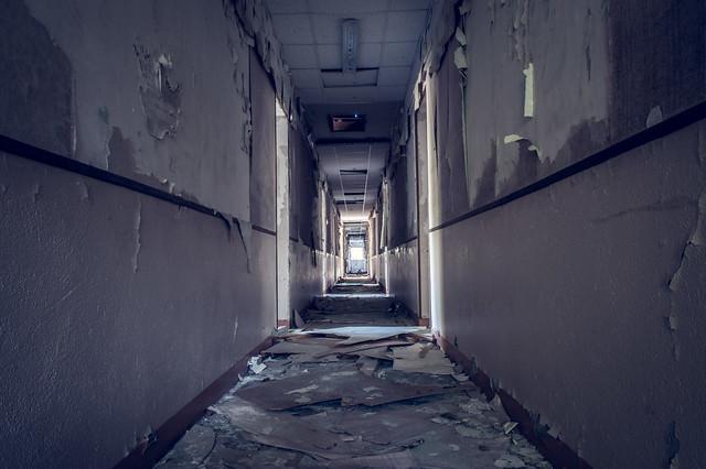 The couloir ...