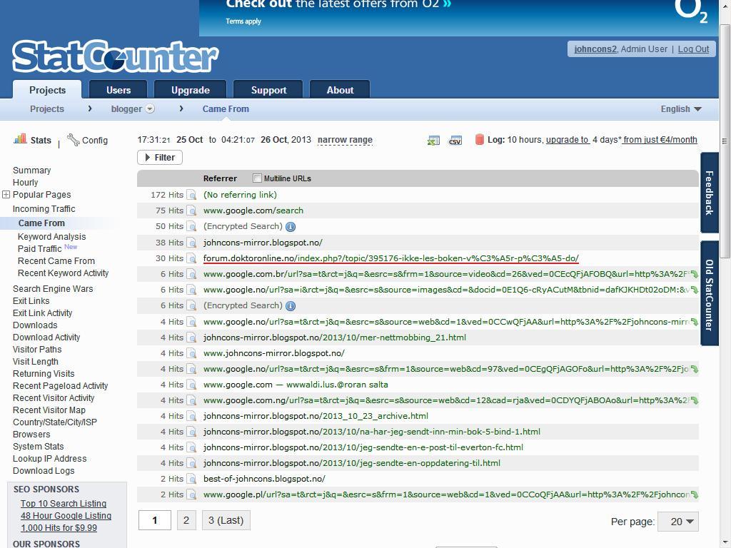 statcounter online