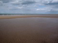 horizon, sand, sea, aeolian landform, body of water, wind wave, natural environment, mudflat, shore, coast,