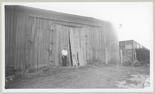 Man at the barn