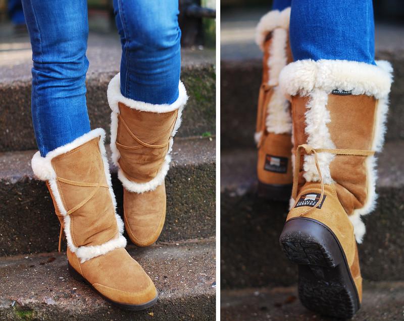 Canterbury Sheepskin boots