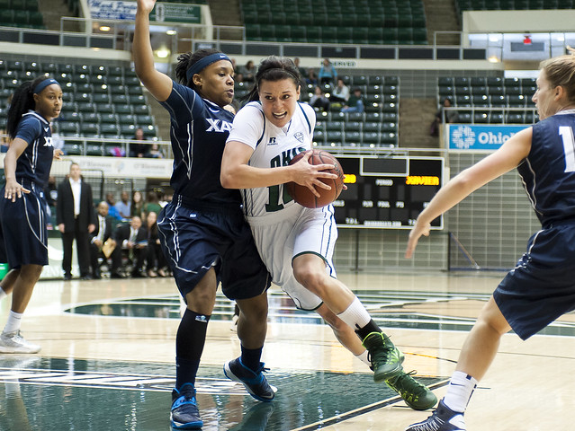 Ohio University Guard Kat Yelle