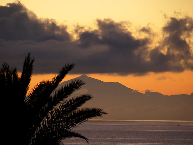 Mount Teide from La Palma