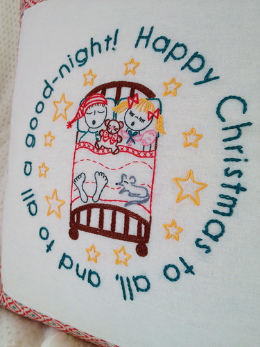 Night Before Christmas Embroidery Pattern!