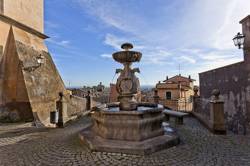 Tuscania-Brunnen