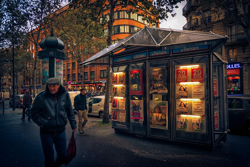 Blvd Saint-Germain, Paris
