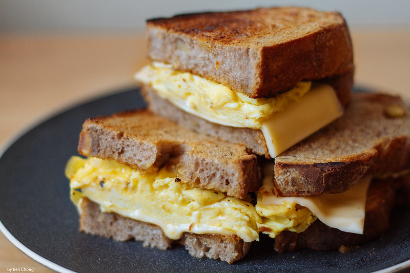 Breakfast - Egg Sandwich with Cheese